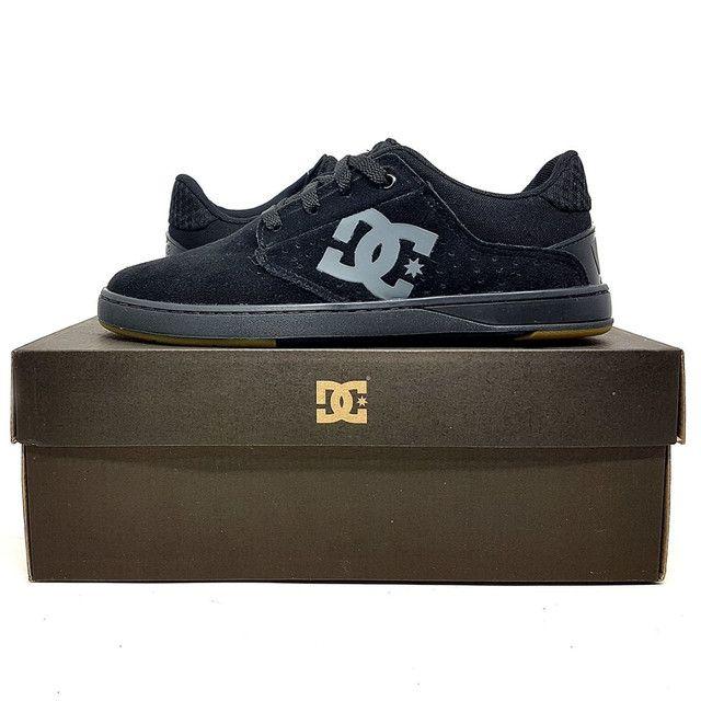 Tênis DC Shoes Plaza TC Couro Natural<br><br> - Foto 6