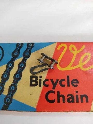 Corrente Velo Grossa Bike fixa, single speed e bike sem marcha - Foto 2