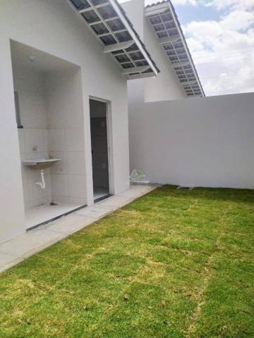 Casa com 2 dormitórios à venda, 71 m² por R$ 189.000,00 - Timbu - Eusébio/CE - Foto 14