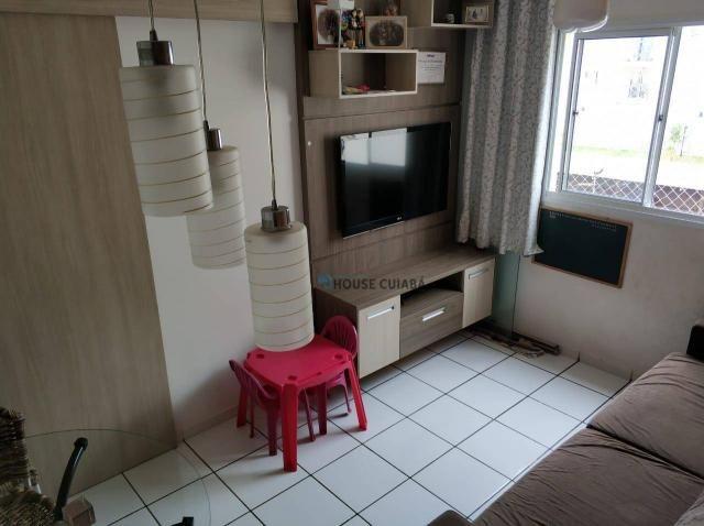 Apartamento No Condomínio Residencial Valência