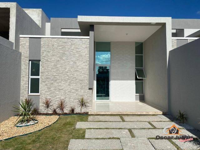 Casa com 3 dormitórios à venda, 90 m² por R$ 270.000 - Centro - Eusébio/CE