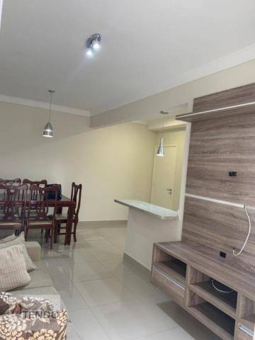 Apartamento 90 m² - alugar - 3 dormitórios - 2 suítes - Bairro Pau Preto - Indaiatuba/SP - Foto 2