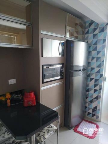 Lindo apartamento mobiliado à venda no centro de Cianorte! - Foto 4