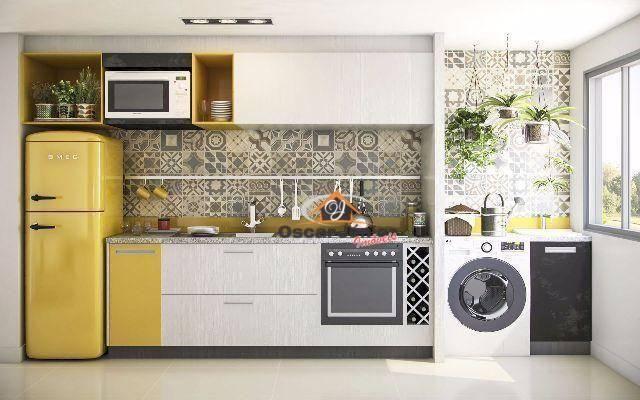 Apartamento com 2 dormitórios à venda, 49 m² por R$ 169.735,00 - Centro - Eusébio/CE - Foto 16