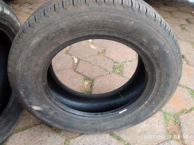 Vende se 2 pneus sem Aro e 1 com aro usados - Foto 6