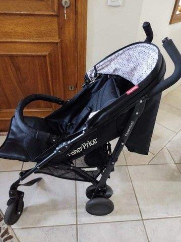Carrinho de bebê guarda-chuva Fisher Price - Foto 3