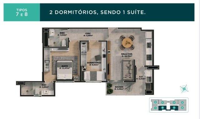 Apartamento Bairro Areias 02 e 03 dormitórios - Vivendas Home Club  - Foto 15