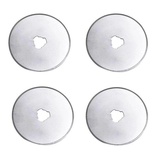 Lâminas circulares p/estilete rotativo 45 mm ultra afiadas venda de 1 ou 5 unidades - Foto 3