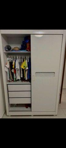Guarda-roupa infantil porta de correr - Foto 3
