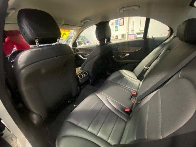 Mercedes Benz C 180 2019 1.6 Gasolina Único Dono Branca Estudo Troca e Financio - Foto 14