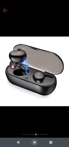 Fone Y30 Tws De Ouvido Sem Fio  Bluetooth Controle De Toque Headset - Foto 3