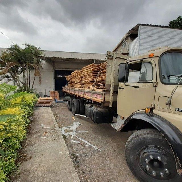 Vendo ou troco Mercedes 1113 truck - Foto 2