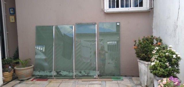 Janela de vidro temperado 4 folhas ,1 5x2,0 - Foto 4