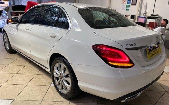 Mercedes Benz C 180 2019 1.6 Gasolina Único Dono Branca Estudo Troca e Financio - Foto 6