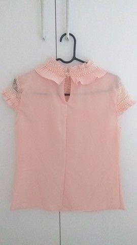 Blusa rosa P - Foto 3