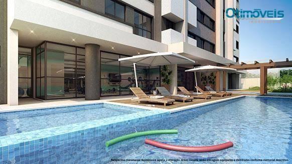 Apartamento com 2 dormitórios à venda, 56 m² por r$ 345.900,00 - santo inácio - curitiba/p - Foto 6