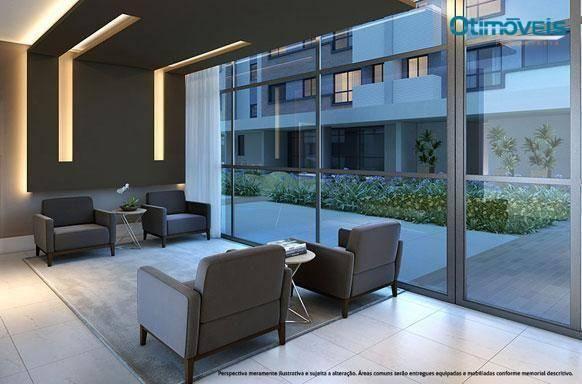 Apartamento com 2 dormitórios à venda, 56 m² por r$ 345.900,00 - santo inácio - curitiba/p - Foto 12