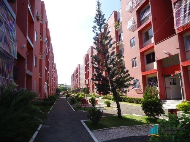 Apartamento residencial para locação, Tabapuá, Caucaia - AP0147.