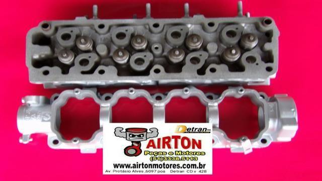 Cabeçote retificado-motor-bloco-virabrequim-comando-alternador-arranque-compressor-biela-