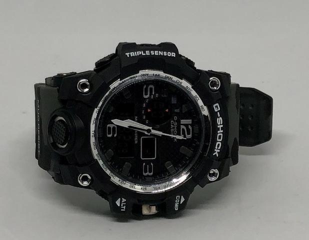 83099aaf211 Relógio Casio G-shock Gg-1000 Com Pulseira de Camuflagem Cinza Com Garantia  Novo Na Caixa