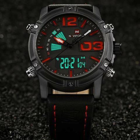 3eb06672881 Relógio importado masculino original Naviforce - Bijouterias ...