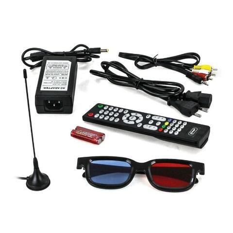 Tv Monitor 15,4 Pol KP-116 Knup Lcd Hd 1080p Dvd Player Hdmi Vga Usb - Foto 4