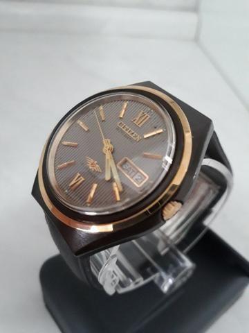 5bb47f1c744 Relógio Citizen Japan anos 70
