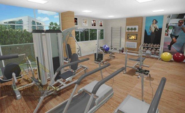 Apartamento à venda com 3 dormitórios em Barro vermelho, Vitória cod:3840 - Foto 8