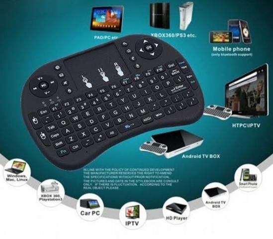 Teclado para televisão via Bluetooth