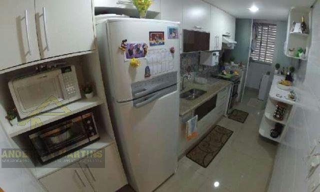 Apartamento à venda com 3 dormitórios em Enseada do suá, Vitória cod:6031 - Foto 3