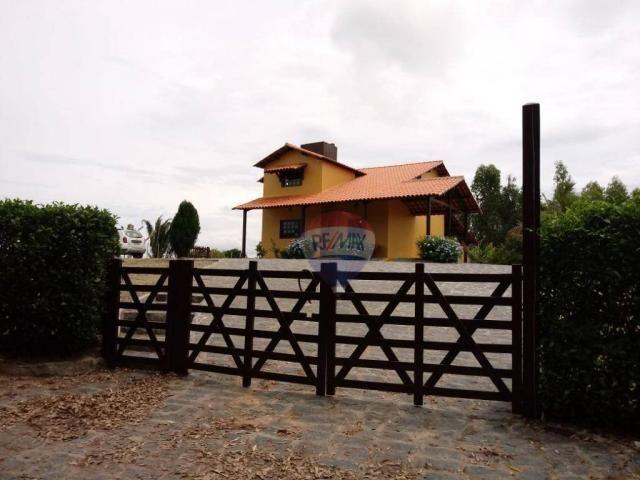 Chácara com 2 dormitórios à venda, 20000 m² por r$ 480.000 - insurreição - sairé/pe