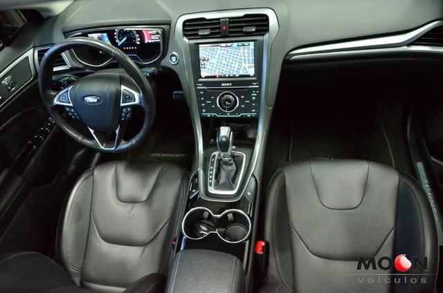Ford Fusion 2.0 GTDi Titanium Teto solar revisado estado excelente!! - Foto 19