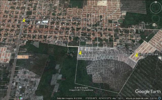 Lote de 10 x 30m, Lot. Cons.Alberto Silva, Bairro Planalto, PHB - Foto 2