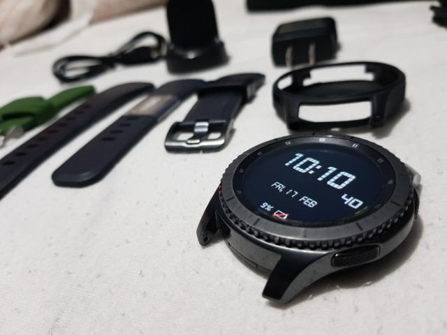 Smartwatch Samsung Gear S3 Frontier SM-R765A c/ 4G Lte, Bluetooth e Wifi  Importado