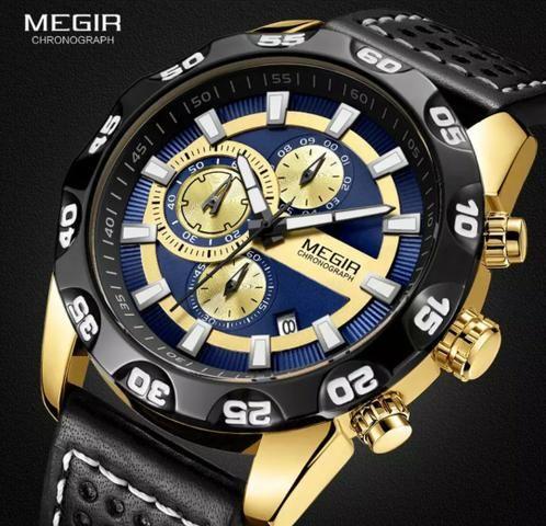 Relógio Multifuncional Original MEGIR - Foto 5