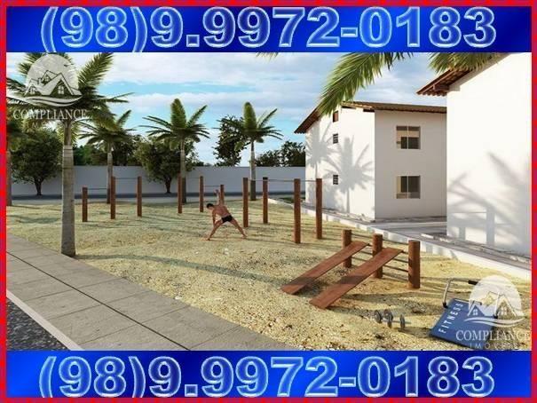 Plaza Das Flores II e III, apartamentos 2 quartos à venda, Paço do Lumiar - Foto 6