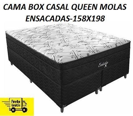 Entregamos No Mesmo Dia Linda Cama Box Queen Size Nova e Embalada!!