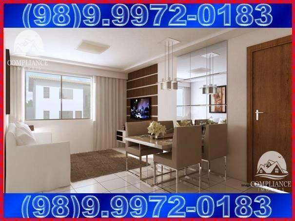 Plaza Das Flores II e III, apartamentos 2 quartos à venda, Paço do Lumiar - Foto 3