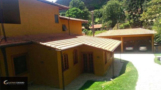 Casa residencial à venda, carangola, petrópolis - ca0002.