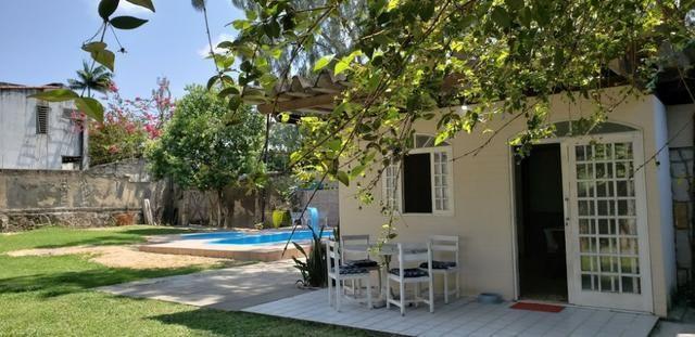 Casa C/ piscina 300 m do mar (aluguel por dia)