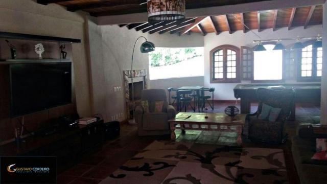 Casa residencial à venda, carangola, petrópolis - ca0002. - Foto 6