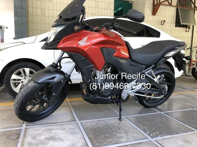 Honda CB-500x com abs