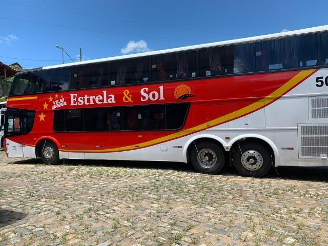 Ônibus DD Scania K113 Impecável - Pronto para viajar e trabalhar! - Foto 19