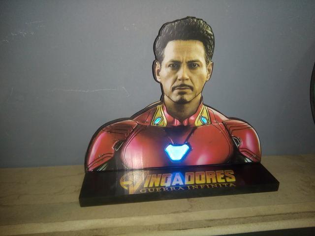 Luminária ou Abajur Tony Stark Homem de Ferro - Foto 3