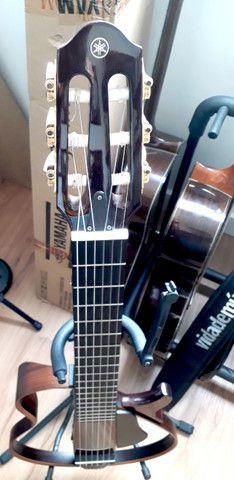 Violão Yamaha slg 200nw slg 200 nw - Com Bag Original - Foto 3