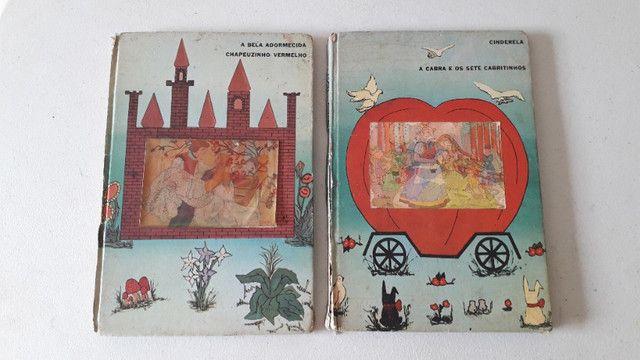 Livros infantis Estorias infantis antigo com 2 volumes
