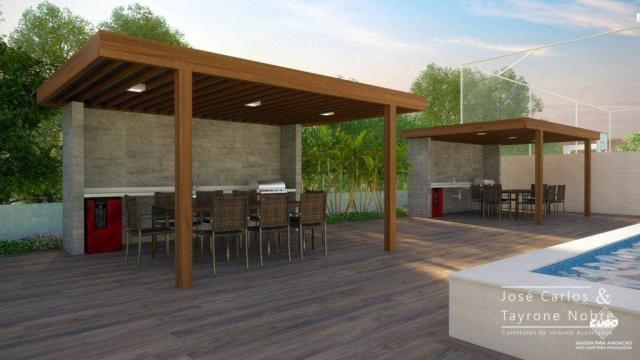 Repasse 130m² Eco Oceania! Apartamento com 3 suítes - Vista mar - Varanda gourmet - Jardim - Foto 12