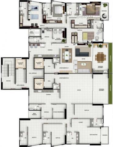 Apartamento à venda com 4 dormitórios em Altiplano cabo branco, João pessoa cod:13630 - Foto 13