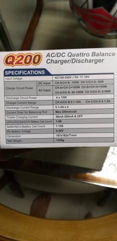 Carregador Bateria Lipo Q200 SkyRC NOVINHO - Foto 3