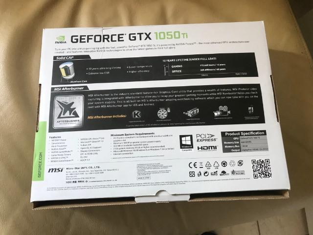 Placa de vídeo GTX 1050 Ti MSI - Foto 5
